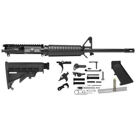"Del-Ton AR-15 Rifle Kit - 16""  Carbine (Complete Upper, Lower  Parts Kit & Carbine Buttstock"