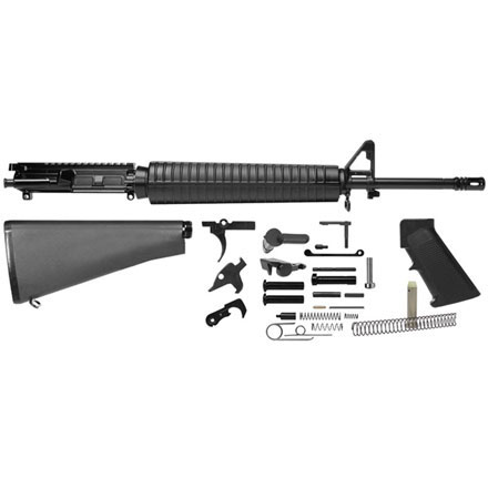 "Del-Ton AR-15 Rifle Kit - 20""  Heavy Barrel (Complete Upper,  Lower Parts Kit and Std Buttst"