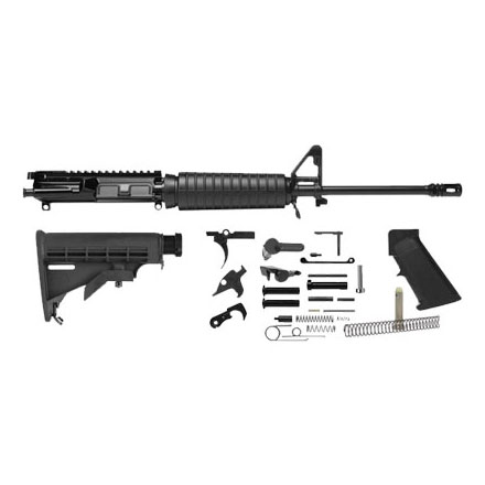"Del-Ton AR-15 Rifle Kit - 16""  Light Weight  (Complete Upper,  Lower Parts Kit & Carbine Buttstock)"