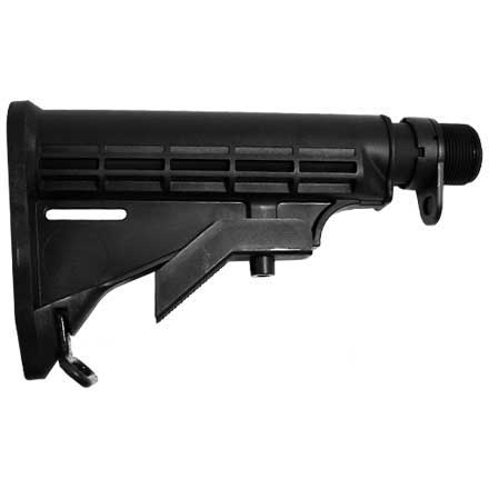 Del-Ton AR-15 Rifle Kit - 16 inch Mid- Length (Complete Upper, Lower Parts  Kit & Carbine Buttstock)