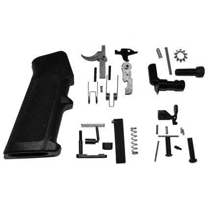 "Del-Ton AR-15 Rifle Kit - 16""  Mid- Length (Complete Upper, Lower Parts Kit & Carbine Buttstock)"