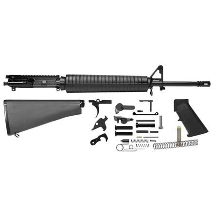 "Del-Ton AR-15 Rifle Kit - 20""  Govt Profile (Complete Upper,  Lower Parts Kit and Std Buttst"