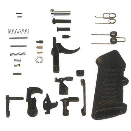 "Del-Ton AR-15 Pistol Kit - 11.5""  (Complete Upper, Lower Parts Kit & Pistol Buffer Tube)"