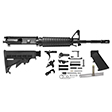 "AR-15 Rifle Kit - 14.75"" M4 1x7 Twist Barrel With Pinned A2 Flash Hider (16"" Overall)"