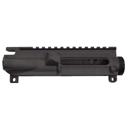 Stripped AR-15 Flat Top A3 Upper Receiver With White T-Marks