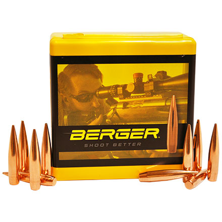 6mm .243 Diameter 109 Grain Long Range Hybrid Target 100 Count