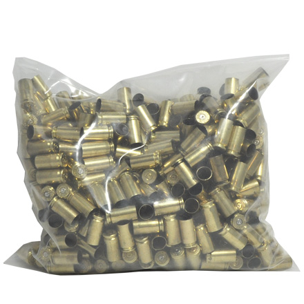 40 S&W Once Fired Pistol Brass 500 Count