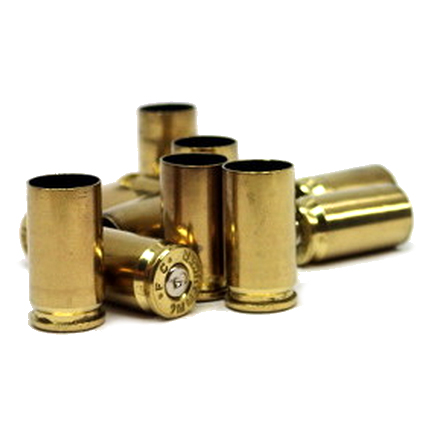 9mm Once Fired Brass 500 Count