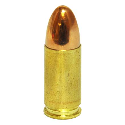 GECO Range Ammo 9mm Luger 124 Grain Full Metal Jacket Round Nose 50 Rounds