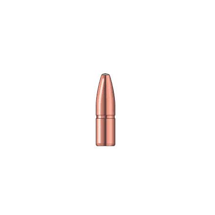 Image for 338 Caliber .338 Diameter 225 Grain A-Frame Semi Spitzer 50 Count