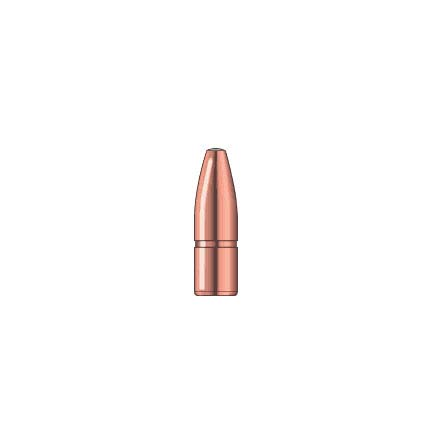 Image for 35 Caliber .358 Diameter 250 Grain A-Frame Semi Spitzer 50 Count