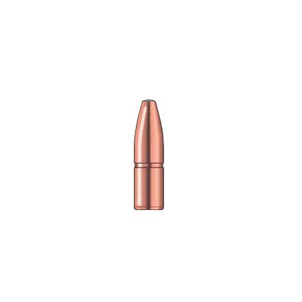 Image for 35 Caliber .358 Diameter 280 Grain A-Frame Semi Spitzer 50 Count