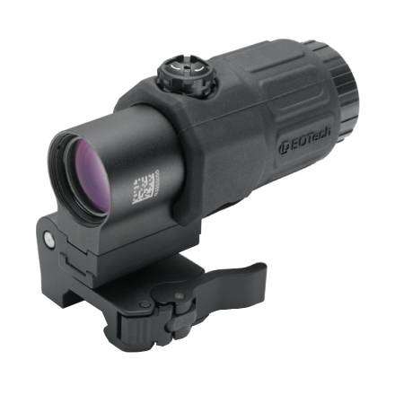 Gen II 3x Magnifier With Flip to Side Mount With Quick Detach