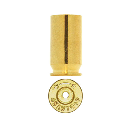 Starline Unprimed Pistol Brass 45 Auto + P 100 Count