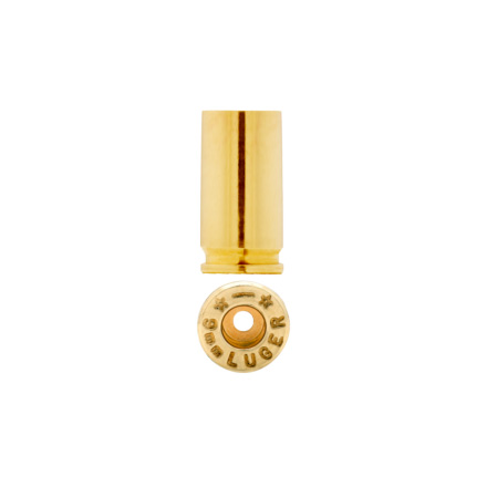 Starline Unprimed Pistol Brass 9mm 100 Count