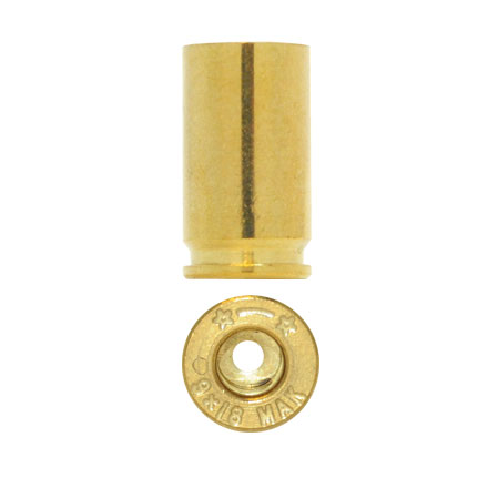 Starline Unprimed Pistol Brass 9mm Makarov 100 Count