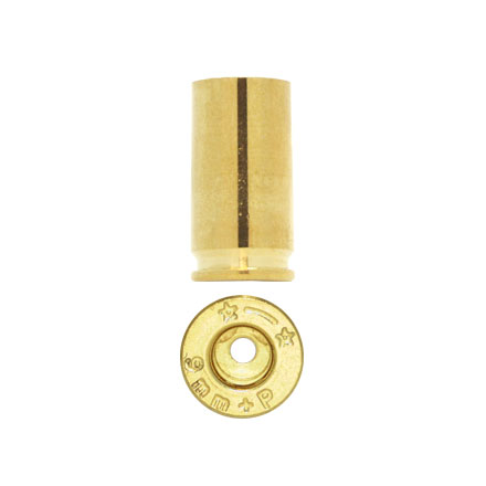 Starline Unprimed Pistol Brass 9mm + P 500 Count