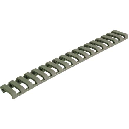 Low Profile Rail Cover Olive Drab