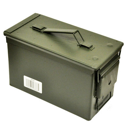 Image for Blackhawk 50 Caliber Ammo Can Olive Drab Metal (50 Cal Ammo Can)