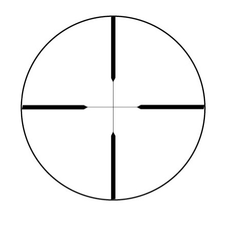 8-Point 4x32mm Truplex Reticle Matte Finish