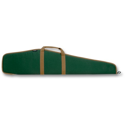 "Economy 48"" Rifle Case Green With Tan Trim"