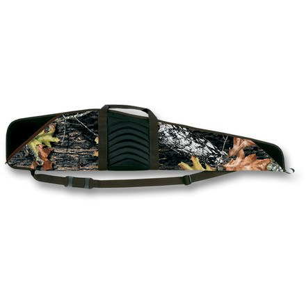 "Pinnacle 48"" Scoped Rifle Case APHD  Camo With Brown Trim"