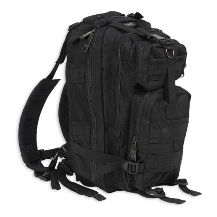 "Image for Extreme Compact Level III Assault Back Pack Black (18"" x 10""  x 10"")"
