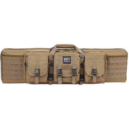 "Deluxe 36"" Single Tactical Rifle Case Tan"