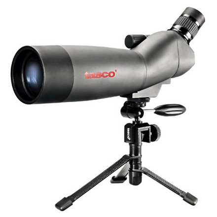 World Class 20-60x60 Zoom Spotting Scope 45° Eyepiece With Tripod