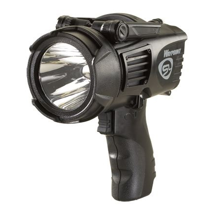 waypoint led spotlight battery or 12v dc power black by. Black Bedroom Furniture Sets. Home Design Ideas