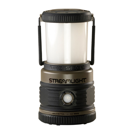 The Siege Lantern 4 C4 LED White and 1 C4 Red Coyote Tan
