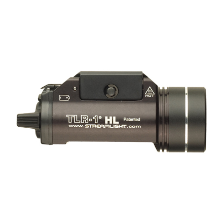 TLR-1 HL Rail Mounted C4 LED White Tact Light with 2 CR123A Lithium Batteries