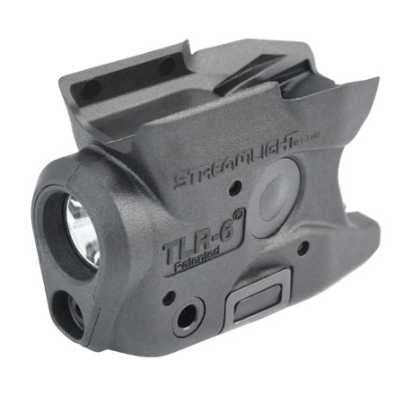 TLR-6 S&W M&P Shield Gun Mounted Tactical Light With Red Laser