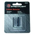 Streamlight Lithium Batteries CR123A (2 Pack)