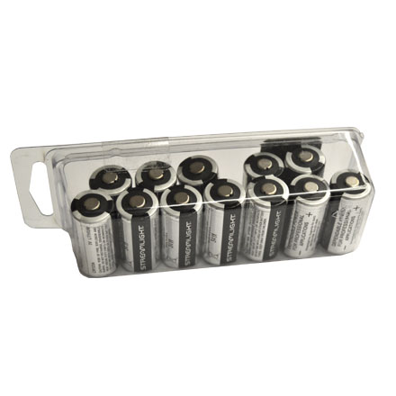 Streamlight Lithium Batteries CR123 (12 Pack)