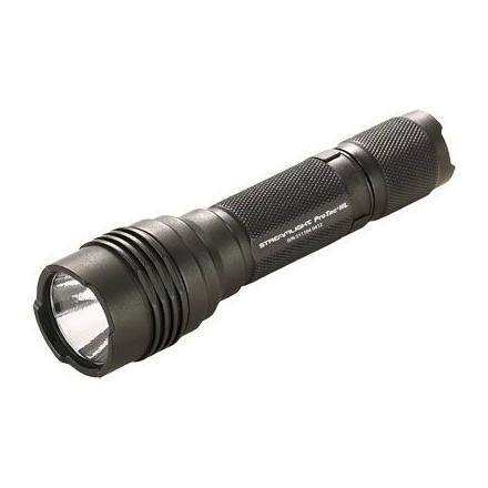 Image for ProTac HL Compact Aluminum LED Light With 2 CR123A Lithium Batteries & Holster