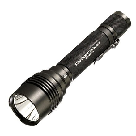 ProTac HL 3 Compact Aluminum LED Light With 3 CR123A Lithium Batteries & Holster