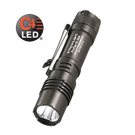 ProTac 1L  1AA Dual Fuel Professional Tactical Light 350 Lumens