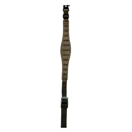 Claw Contour Rifle Sling (Camo) With Hush Stalker II Swivels
