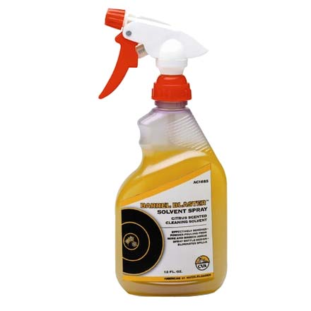 Barrel Blaster Solvent Spray (12 Oz Bottle)