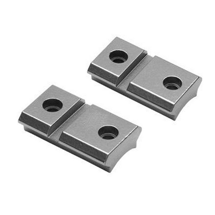 2 Piece Durasight Z2 Alloy Base For CVA, Winchester, And Traditions Inlines (Silver)