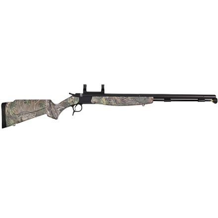 Optima V2 Nitride Muzzleloading Rifle 50 Caliber  Xtra Green Camo Stock With Scope Mount