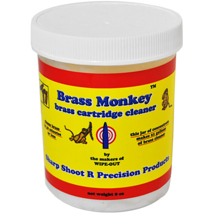 Brass Monkey Case Cleaner (8 Oz Jar)