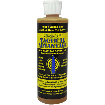 Tactical Advantage 8 Oz Liquid Bore/Weapons Cleaner
