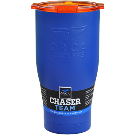 Image for ORCA Chaser Blue / Orange 27 fl oz  Stainless Steel Tumbler