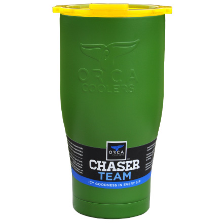 Image for ORCA Chaser Green / Yellow 27 fl oz  Stainless Steel Tumbler