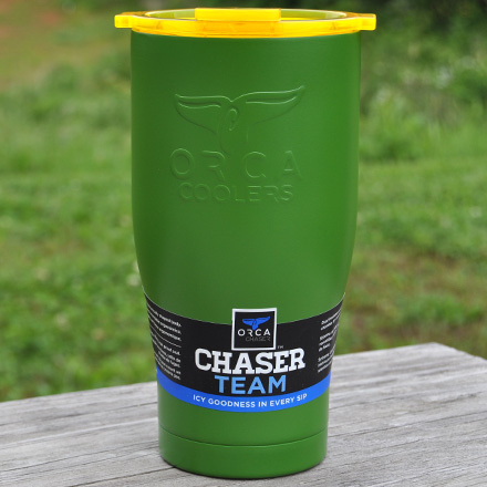 ORCA Chaser Green / Yellow 27 fl oz  Stainless Steel Tumbler
