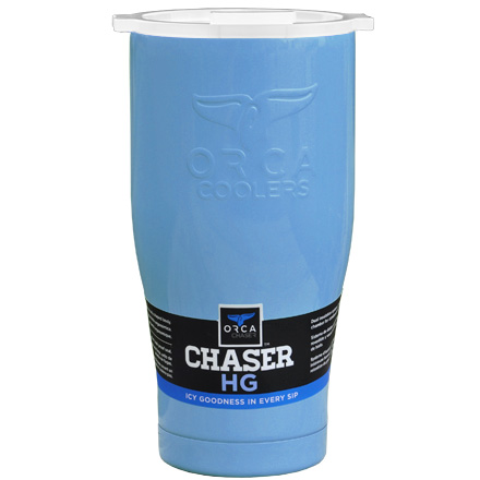 Image for ORCA Chaser Light Blue / White 27 fl oz  Stainless Steel Tumbler