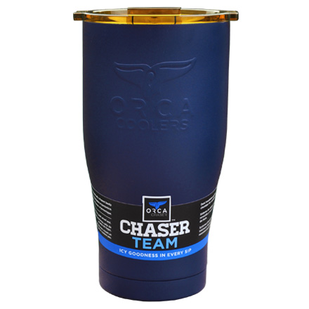 Image for ORCA Chaser Navy / Gold 27 fl oz  Stainless Steel Tumbler