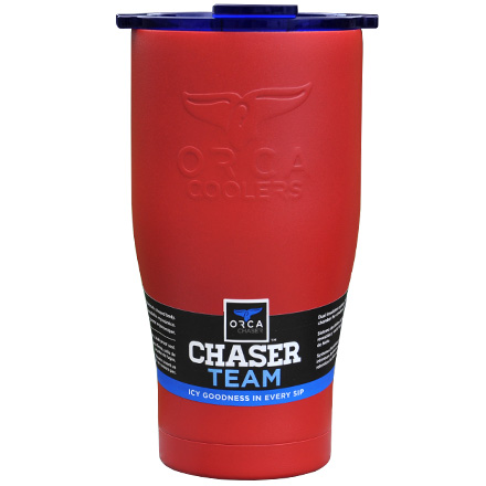 Image for ORCA Chaser Red / Blue 27 fl oz  Stainless Steel Tumbler